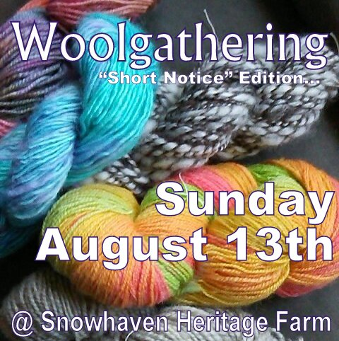 Woolgathering Announcement 8-13