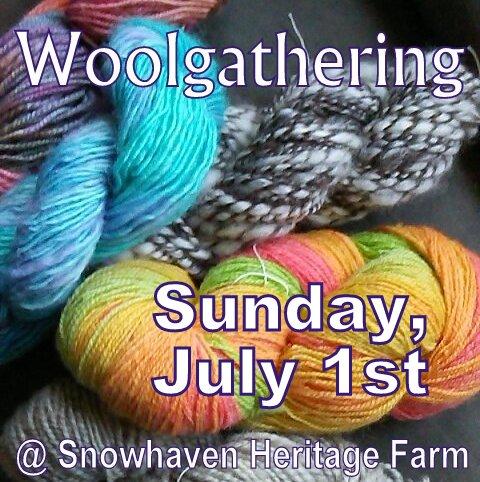 Woolgathering Announcement 7-1-18